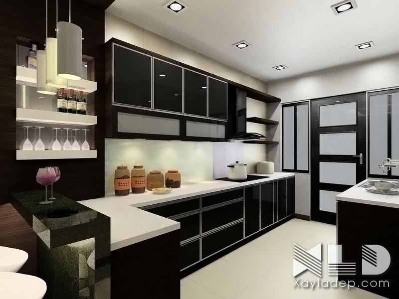 Phòng bếp cần có đủ áng sáng trong quá trình chế biến và nấu ăn