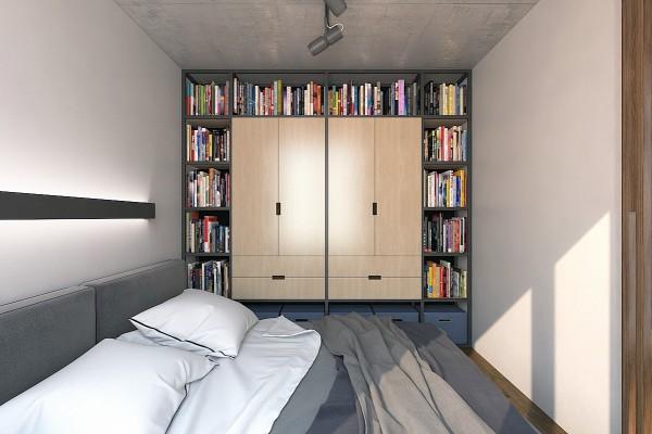 thiet-ke-noi-that-chung-cu-50m2-2 Mẫu thiết kế nội thất chung cư 50m2 phong cách hiện đại