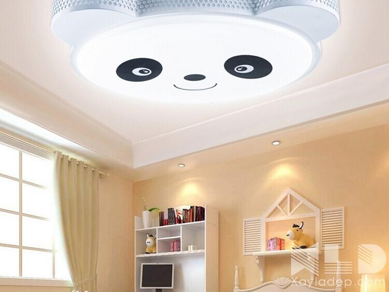 13 | Mẫu trần thạch cao phòng ngủ hình gấu