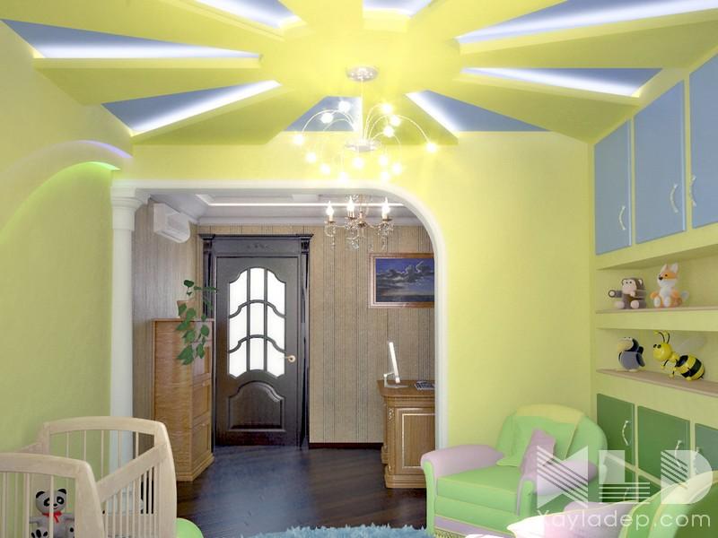 6 | Mẫu trần thạch cao phòng ngủ với những tia nắng ấm