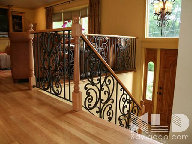 mau-cau-thang-go-2 30 Mẫu cầu thang gỗ đẹp hiện đại và sang trọng