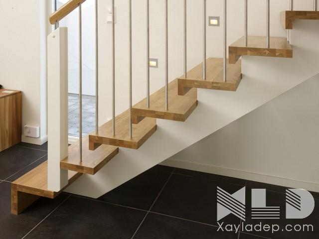 mau-cau-thang-go-21 30 Mẫu cầu thang gỗ đẹp hiện đại và sang trọng