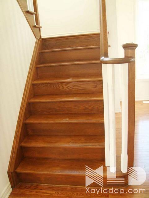 mau-cau-thang-go-23 30 Mẫu cầu thang gỗ đẹp hiện đại và sang trọng