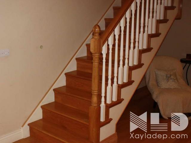 mau-cau-thang-go-25 30 Mẫu cầu thang gỗ đẹp hiện đại và sang trọng