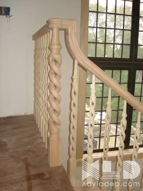 mau-cau-thang-go-29 30 Mẫu cầu thang gỗ đẹp hiện đại và sang trọng