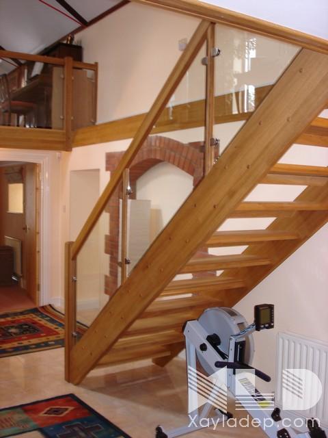 mau-cau-thang-go-5 30 Mẫu cầu thang gỗ đẹp hiện đại và sang trọng