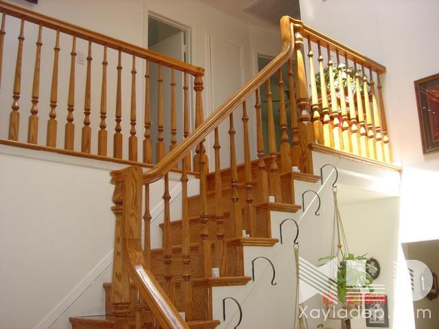 mau-cau-thang-go-7 30 Mẫu cầu thang gỗ đẹp hiện đại và sang trọng