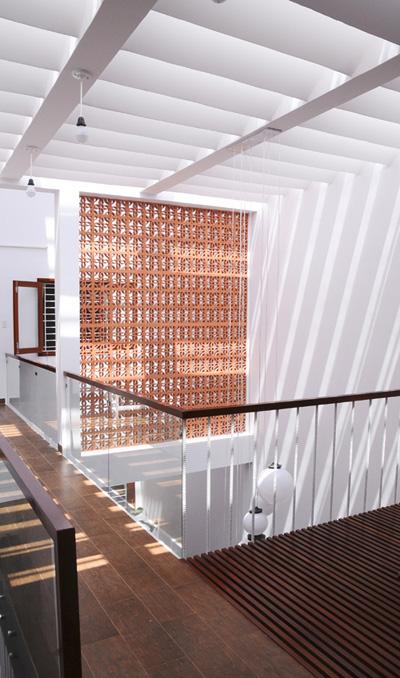 Đường hành lang nối giữa các phòng.