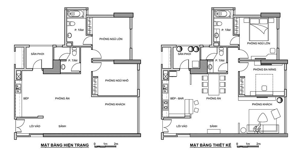 noi-that-can-ho-chung-cu-100m2-3 Hoàn thiện nội thất căn hộ 100m2 chỉ với 200 triệu đồng