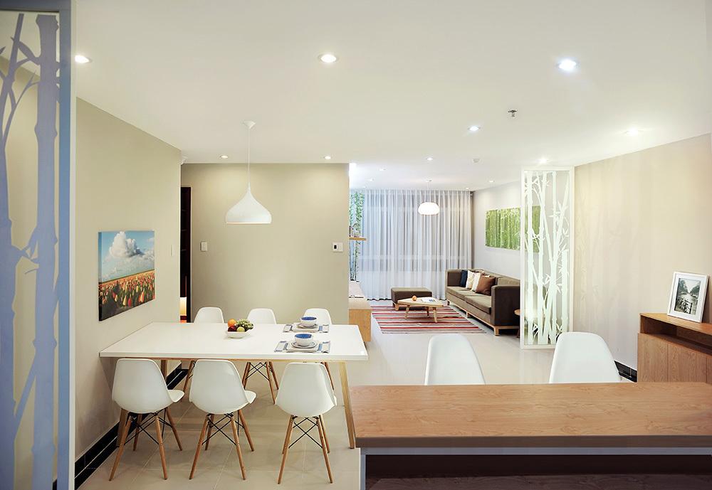 noi-that-can-ho-chung-cu-100m2-5 Hoàn thiện nội thất căn hộ 100m2 chỉ với 200 triệu đồng
