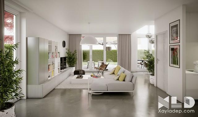 5 phòng khách tuyệt đẹp với phong cách thiết kế hiện đại – p1