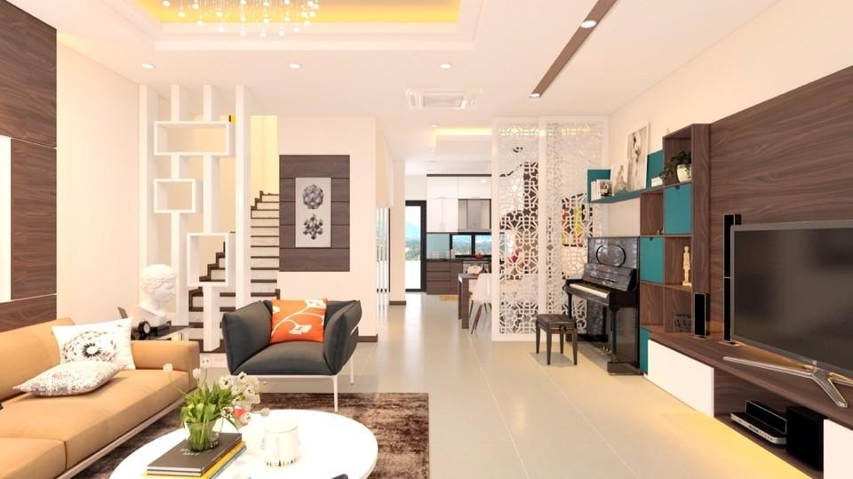 Công trình nội thất biệt thự nhà cô Linh - Gamuda city