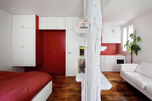 Làm sao để thiết kế căn hộ chung cư 25m2