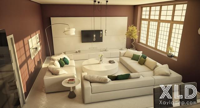 5-phong-khach-tuyet-dep-voi-phong-cach-thiet-ke-hien-dai-p3-6 5 phòng khách tuyệt đẹp với phong cách thiết kế hiện đại – p3
