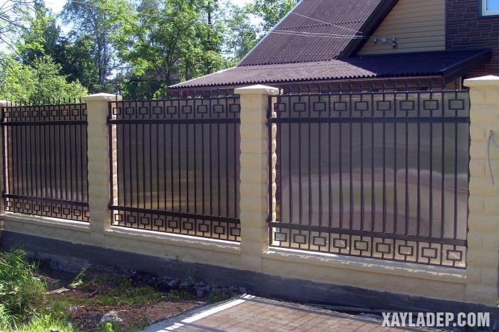 Hình 1: Mẫu hàng rào đẹp phong cách Trung Hoa