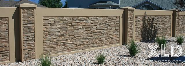 Hình 15: mẫu hàng rào bê tông đẹp