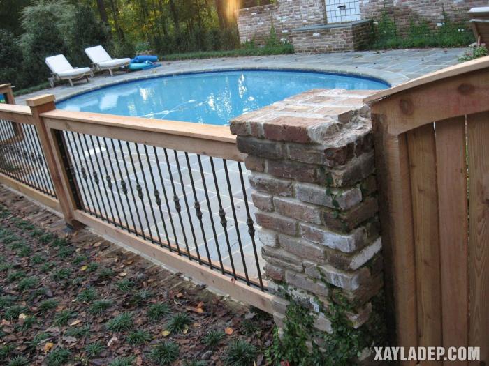 Hình 2: Mẫu tường rào đẹp