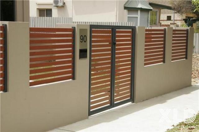 Hình 4: xây tường rào đẹp
