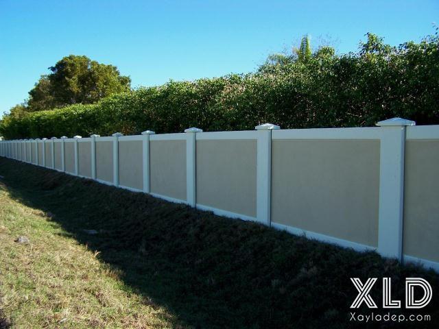 Hình 6: tường rào xây đẹp