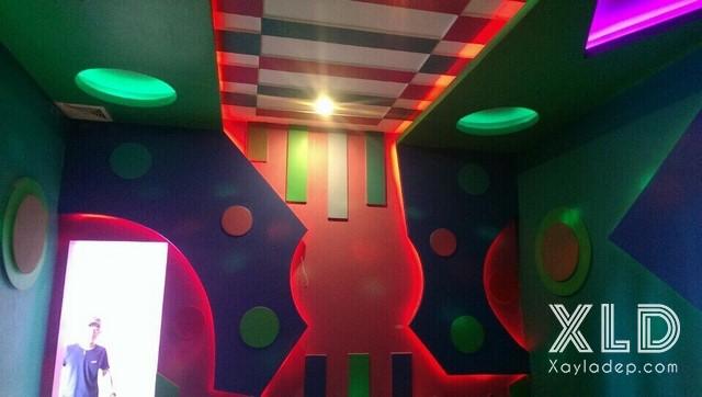 3-mau-thiet-ke-phong-karaoke-3 3 công trình phòng karaoke mới hoàn thành của Xayladep.com