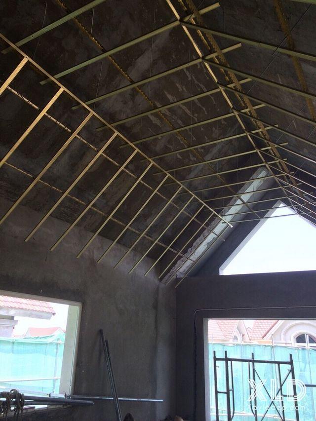 Một số công trình trần thạch cao hoàn thành trong tháng 5/2016
