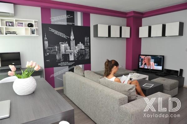 Căn hộ chung cư tầm 50m2 được thiết kế dành riêng cho đôi vợ chồng trẻ với nhu cầu thư giãn cũng như thường xuyên tụ tập bạn bè