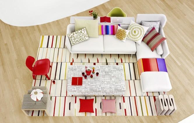 Mẫu sofa hiện đại cho phòng khách - Mẫu 02