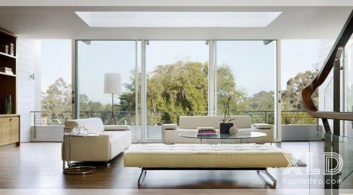 thiet-ke-phong-khach-phong-cach-skylights-10 14 mẫu phòng khách tuyệt đẹp theo phong cách skylights