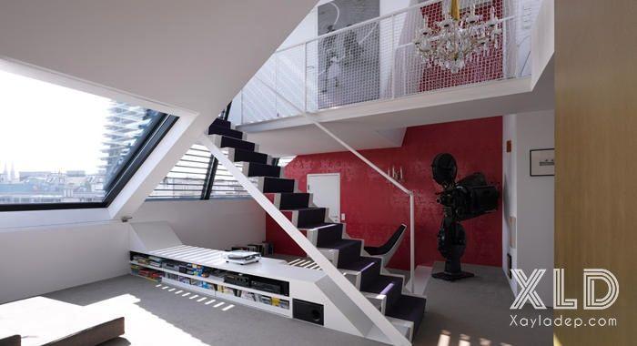 thiet-ke-phong-khach-phong-cach-skylights-12 14 mẫu phòng khách tuyệt đẹp theo phong cách skylights