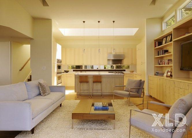 thiet-ke-phong-khach-phong-cach-skylights-8 14 mẫu phòng khách tuyệt đẹp theo phong cách skylights