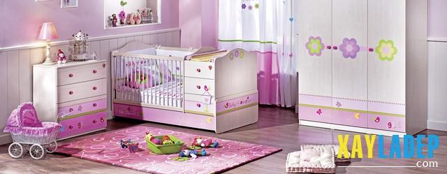 10 mẫu phòng ngủ đẹp lung linh dành cho các bé