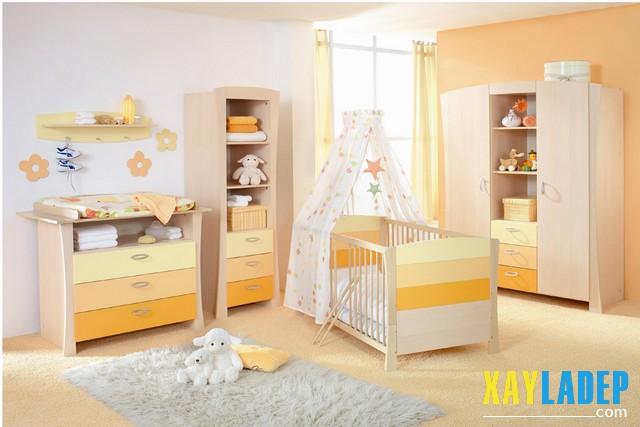 , 10 mẫu phòng ngủ đẹp lung linh dành cho các bé, Nhà đẹp