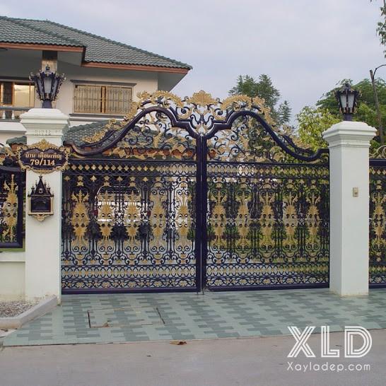 14 | trục cổng đẹp theo kiến trúc Thái Lan