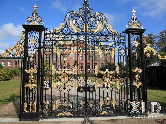 4 | Mẫu cổng nhôm đúc, sắt nghệ thuật