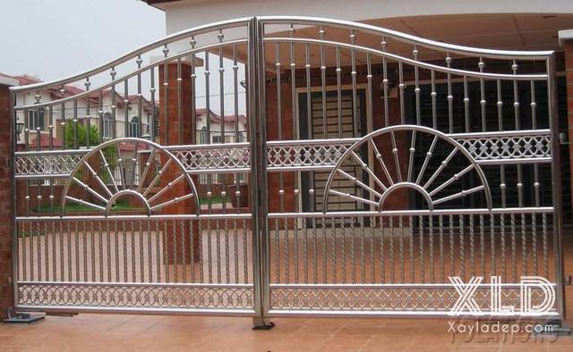 22 | Mẫu cổng đẹp bằng inox