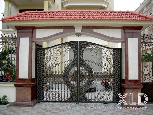 1 | Mẫu cổng nhà đẹp mái Thái là sự lựa chọn hàng đầu cho các công trình xây dựng