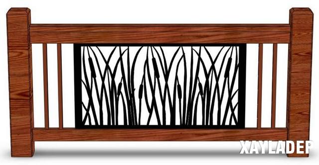 mau-lan-can-dep-7 24 Mẫu lan can đẹp cho thiết kế cầu thang, lan can, hàng rào