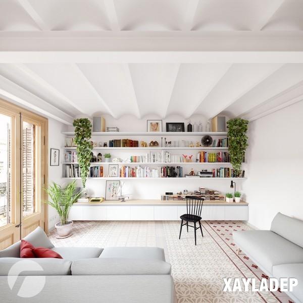 noi-that-tuoi-sang-theo-phong-cach-scandinavian-1 Nét phá cách của 2 căn hộ chung cư lấy cảm hứng từ phong cách scandinavian