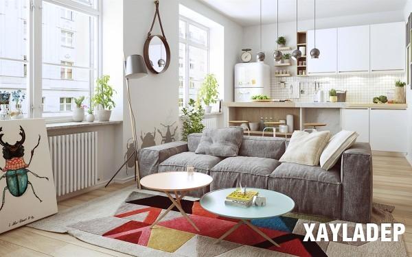 noi-that-tuoi-sang-theo-phong-cach-scandinavian-4 Nét phá cách của 2 căn hộ chung cư lấy cảm hứng từ phong cách scandinavian