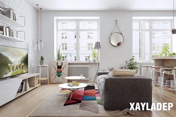 noi-that-tuoi-sang-theo-phong-cach-scandinavian-6 Nét phá cách của 2 căn hộ chung cư lấy cảm hứng từ phong cách scandinavian