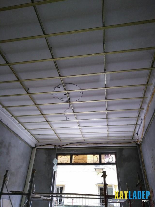 thi-cong-tran-thach-cao-2 Các công trình trần thạch cao thi công tại Cầu Giấy - Hà Nội
