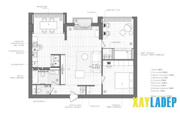 thiet-ke-noi-that-chung-cu-100m2-cho-gia-dinh-4-nguoi-17 Thiết kế nội thất chung cư 100m2 cho gia đình 4 người