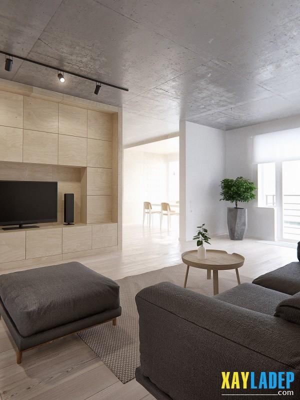 thiet-ke-noi-that-chung-cu-100m2-cho-gia-dinh-4-nguoi-3 Thiết kế nội thất chung cư 100m2 cho gia đình 4 người