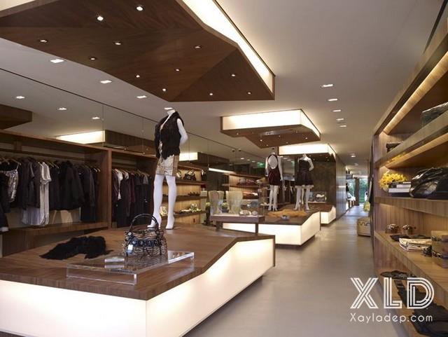 , 20 Mẫu trần thạch cao tuyệt đẹp cho cửa hàng – showroom – shop, Nhà đẹp