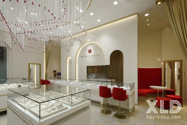 tran-thach-cao-cho-cua-hang-showroom-15 20 Mẫu trần thạch cao tuyệt đẹp cho cửa hàng - showroom - shop