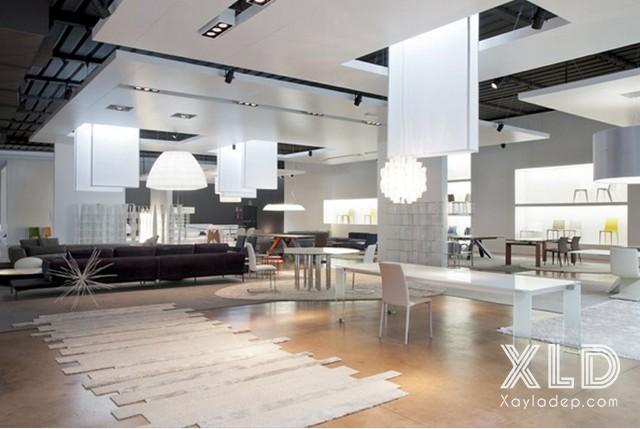 tran-thach-cao-cho-cua-hang-showroom-18 20 Mẫu trần thạch cao tuyệt đẹp cho cửa hàng - showroom - shop