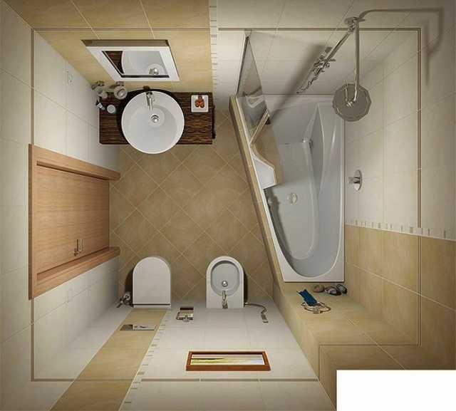 Nhưng nếu bạn vẫn muốn 1 chiếc bồn tắm thì bạn có thể sử dụng bồn tắm hình tam giác đủ thoải mái và giúp bạn có thêm diện tích cho các chức năng khác.