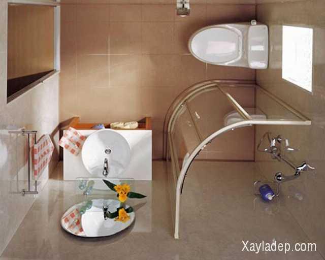 Thiết kế phòng tắm nhỏ chúng ta nên thẳng tay loại bỏ những chiếc bồn tắm cồng kềnh