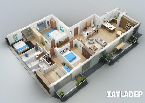 mau-thiet-ke-noi-that-chung-cu-3d-11 14 Mẫu thiết kế nội thất chung cư hiện đại đã được render 3D