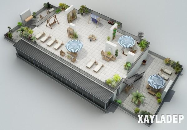 mau-thiet-ke-noi-that-chung-cu-3d-14 14 Mẫu thiết kế nội thất chung cư hiện đại đã được render 3D